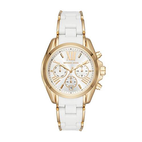 Michael Kors Reloj Analógico para Mujer de Cuarzo con Correa en Acero Inoxidable MK6578