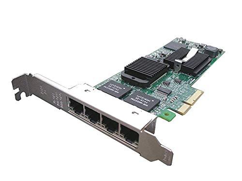Dell PRO / 1000 Intel Gigabit ET Quad Port Server Adapter LP PCI-Express 4 Port Network Card 0H092P (Refurbished)