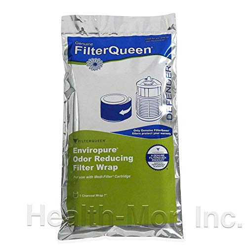 Genuine FilterQueen Enviropure Charcoal Filter Wrap