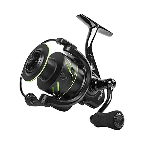 XUJIEI 2021 Nuevo Carrete de Pesca Spinning Full Metal Spool Spinning Reel 8-10kg MAX Drag Carpa Carrete de Pesca Molinete De Reel Compatible WithSpinning