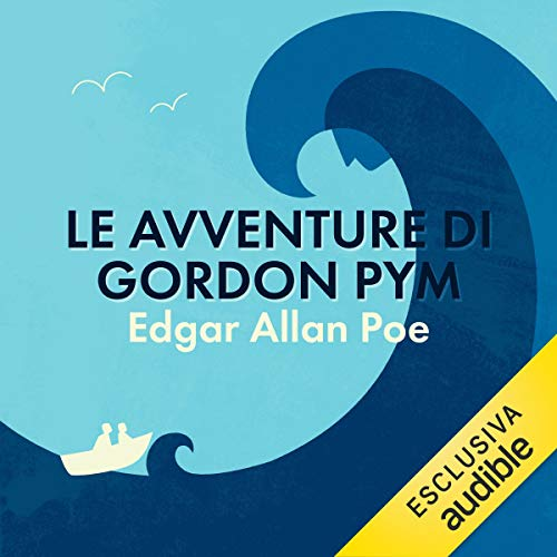 Le avventure di Gordon Pym copertina