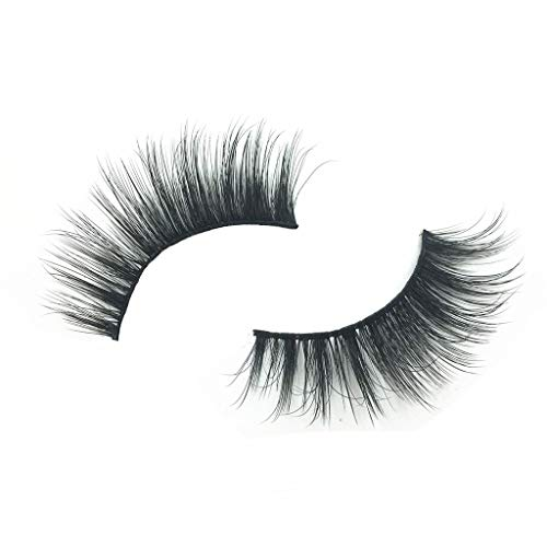 TOPSELD Sexy Party 3D falsche Wimpern Lashes Voluminöse Eye Lashes 5 Paar-Make-up Lashes