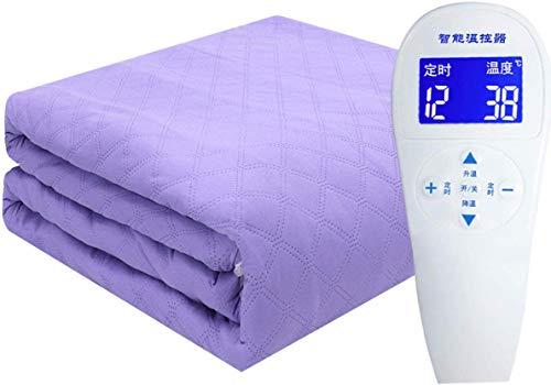 CDFC verwarmingsdeken, elektrisch, met watercirculatie, uniek, verwarmingsmat, niet stralend, met tijdcontrole en temperatuurregeling, violet