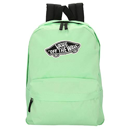 Vans Realm Backpack Mochila Mujer Tipo Casual, 42cm, 22L, Verde (Green)