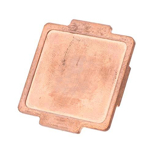 kdjsic Protector de la Cubierta del abridor de la CPU, Cubierta Superior de Cobre de la CPU para Intel i7 3770K 4790K 6700k 7500 7700k 8700k 9900K Core i7 115X