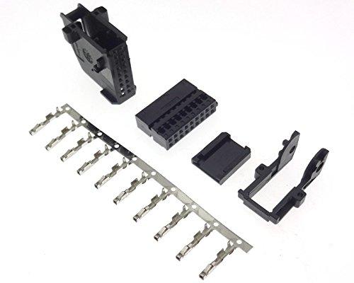 TV Tuner Stecker 18 pin Navigation Adapter kompatibel mit RNS RNS2 MFD2 Nexus BMW Seat Skoda VAG