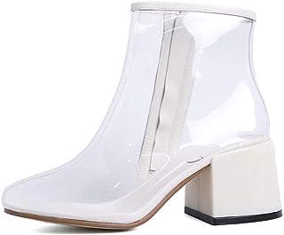 grande remise 100% authentique le magasin Amazon.fr : Transparent - Bottes et bottines / Chaussures ...
