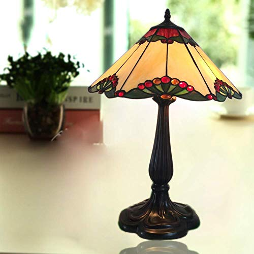 Tafellamp tafellamp Tiffany-Art antieke tafellamp retro beste smaak voor het milieu van de kwaliteit hars basis voortreffelijk vakmanschap decoratieve lampen