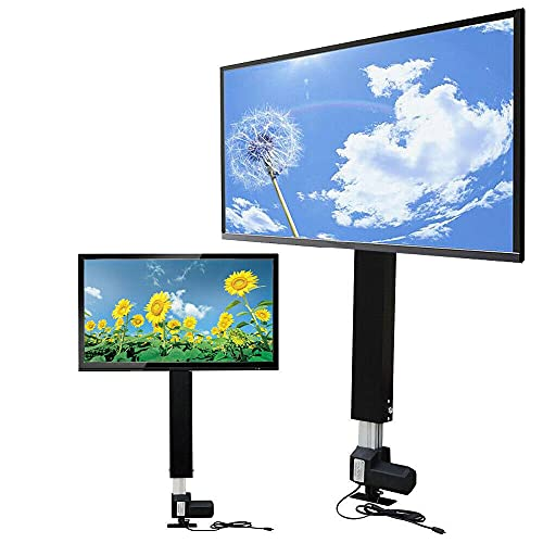 Soporte de TV eléctrico, altura regulable, 700 mm, para pantallas de plasma LCD LED de 26 a 57 pulgadas