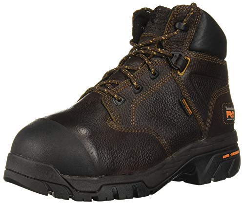 Timberland PRO Men's Helix Met Guard Work Boot,Brown,8 W US