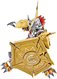 Figura de Acción Anime Anime Figura Figura de acción Digimon Aventura Wargreymon Metalgarurumon Estatuilla Colección Estatua Adornos Decoración Niños Juguetes Doll Regalo ( Color : Wargreymon-17cm )