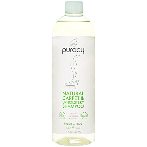 Puracy Natural Carpet Cleaner Detergent Shampoo, Professional Pet Stain & Odor Remover, 25...