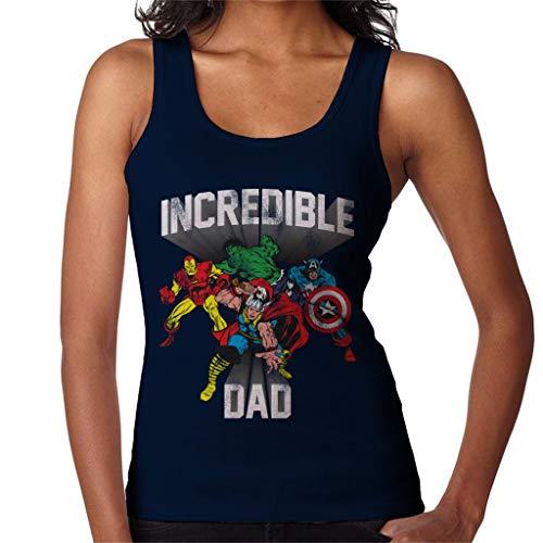 Marvel ongelooflijke vader MCU Heroes dames vest
