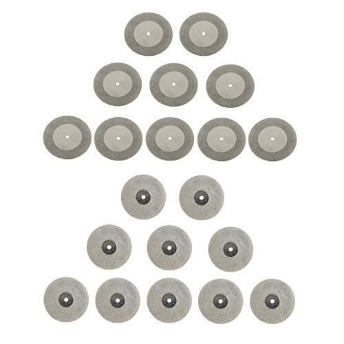 dailymall 20pcs / Lot Dischi Da Taglio Mole Diamantate Utensile Rotante Seghe Utensili Da Taglio