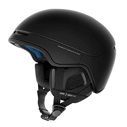 POC Obex Pure Helmet, Uranium Black, Medium/Large
