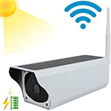 ROMIX 2.0 MP1080P Outdoor Wireless Solar Battery Powered Bullet Security IP Camera with IP67 Waterproof, Advanced Day and Night Vision, PIR Motion Detection, Built in Rechargeable Battery Included