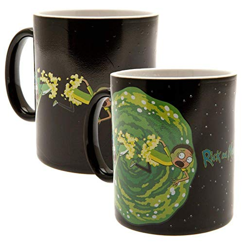 GB Eye LTD, Rick y Morty, Portal, Taza Mágica cambiante de Color