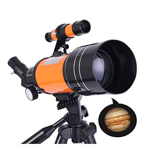 Knkm HD Telescopio Astronómico Profesional para Exteriores Visión No