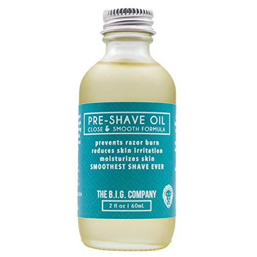 The B.I.G. Company's Pre Shave Oil - Huile a Barbe - 60 ML