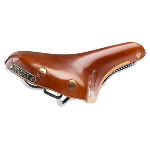 Brooks Swift Chrom Fahrrad Leder Sattel, B360, Farbe honig