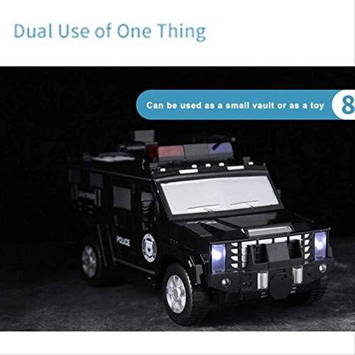 LLDKA Creadora de Dinero en Efectivo Toy Box camión blindado del balanceo del Coche automáticamente música Inteligente Piggy luz del Coche de Juguete