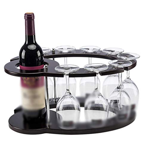 Portabottiglie per Vino Espositore per decorazioni in Legno massello Portabottiglie per famiglia Personalità Espositore per Vino multistrato