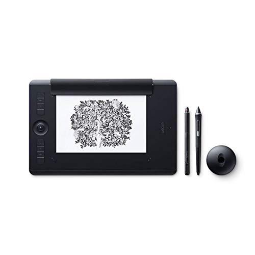 Wacom Intuos Pro Grafiktablet mit Stylus, Druckempfindlichkeit bis 8000 Stufen schwarz Schwarz Taglia M