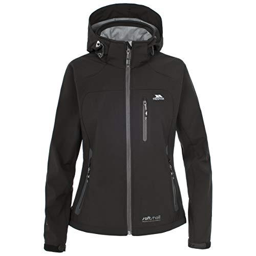 Trespass Bela - Chaqueta de esquí para mujer, color negro, talla X-Small