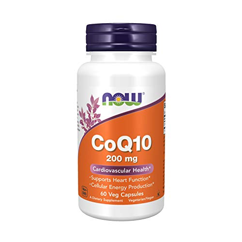 Coq10 200mg (60 cáspsulas veganas) Now Foods
