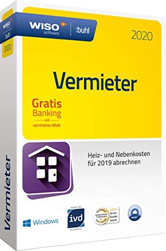 WISO Vermieter: Win 2020 - Mietneben- und Heizkosten korrekt abrechnen 2019|2020|1 Gerät|1 Jahr|PC|Disc|Disc in Standardverpackung
