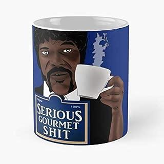 Best Gift Coffee Mugs 11 Oz Jules The Bad Motherfucker Classic Mug Pulp Fiction