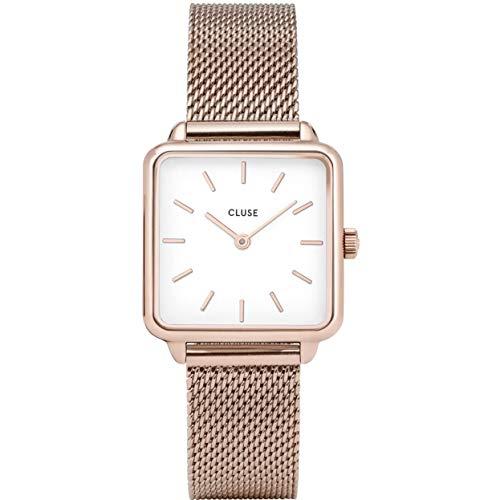 Cluse Damen Analog Quarz Uhr mit Edelstahl Armband CL60003