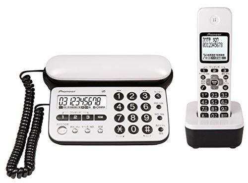 パイオニア Pioneer TF-SD15S デジタルコードレス電話機 子機1台付き/迷惑電話防止 ピュアホワイト TF-SD15S-PW 【国内正規品】
