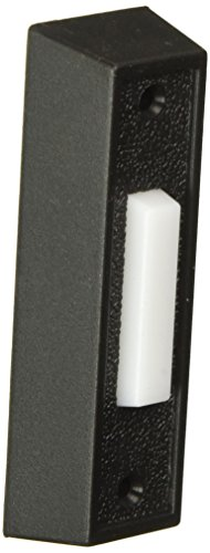 THOMAS & BETTS DH1407L 0 Lighted White, Push Chime Button with Black Rectangular Housing