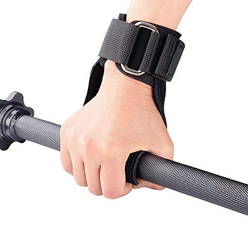 NGHXZ Universele Polssteun, anti-slip, voor mannen en vrouwen grip riem pull-ups fitness handschoenen halter training beschermende uitrusting