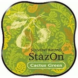 Tsukineko 373827 StazOn Midi Ink Pad-Cactus Green