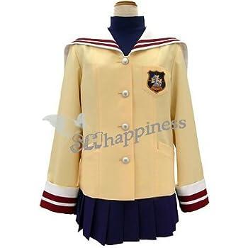 コスプレ衣装★☆CLANNAD クラナド★光坂高校女子制服冬服