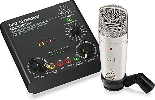 Behringer Voice Studio, set di registrazione completo con microfono da studio