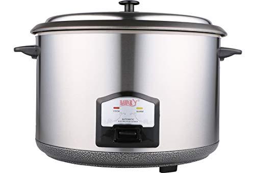Bavary | Elektrischer Kochtopf | 5,6 Liter | Ø: 45 cm | 4,59kg | Messing | Silber