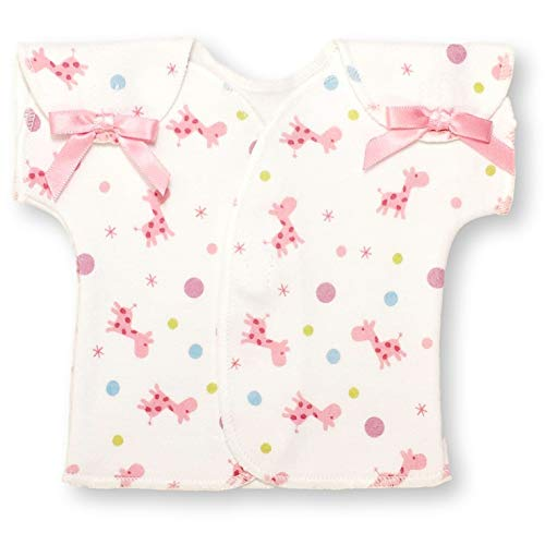 | Preemie Girls Clothing by Itty Bitty Baby | NICU Shirt - Giraffe Bubble Pink
