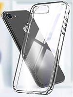 iPhone8/iPhone7 アイフォン8/アイフォン7 ケース 耐衝撃 クリア 透明 薄型 滑りにくい TPU スタイリッシュ オシャレ