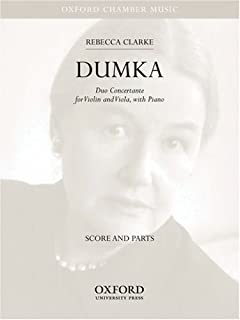 Dumka: Oxford Chamber Music Score