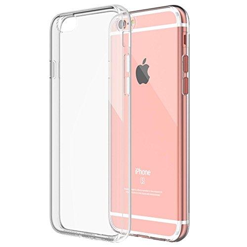 Roar Handy Hülle Transparent aus Silikon für iPhone 6 / 6S Handyhülle Ultra Slim, Dünn, Durchsichtig, Silikon Schutzhülle für iPhone 6 / 6S
