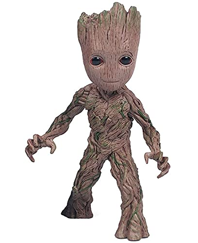 Marvel Avengers Guardians of The Groot 15cm Cute Baby Tree Man Figure PVC Model Doll Toys Collection for Kids Adult