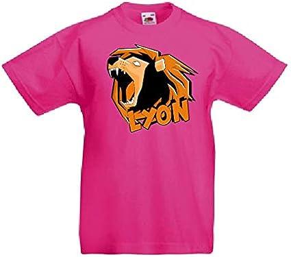T-Shirt Maglia Bambino/a Stampa Lyon - When Gamer's Fail - Lyon Youtuber Italia