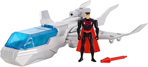 "DC Justice League Action Superman & Justice 1 Vehicle, 4.5"""
