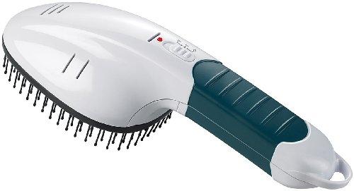 infactory Hundebürste: 3in1-Tierbürste mit Ionisator und Anti-Floh-Funktion (Flohbürste)