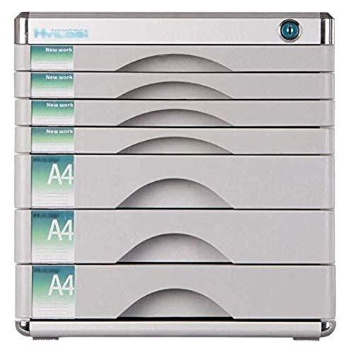 Gabinete de presentación, archivador de la revista A4 Archivo A4, etiqueta en blanco, gabinete de almacenamiento de aleaciones de aluminio, extraíble anti-viaje, utilizado para suministros de oficina