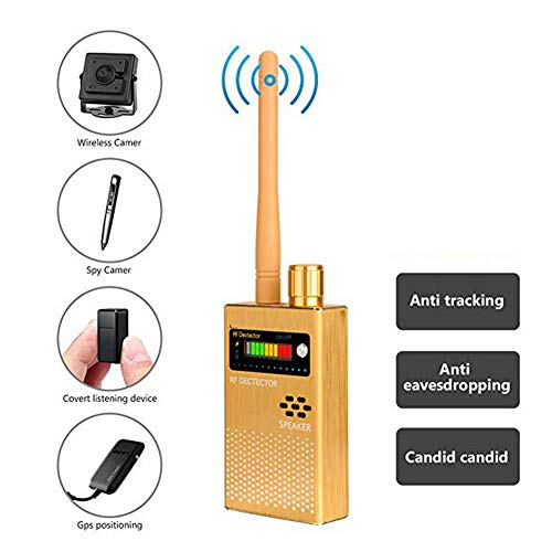 Great Features Of TANCEQI Wireless Bug Detector RF Signal GSM Listening Device Finder Radar Radio Sc...