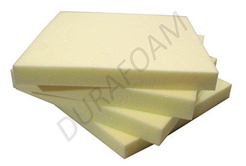 DURAFOAM Extra Dense Memory Foam Off Cut for Dog Beds and Cushions - 8 x 8 x 1/20 x 20 x 3 cm